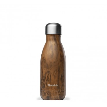 Bouteille Isotherme Wood - Qwetch