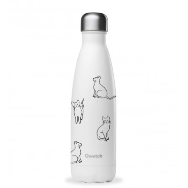 Bouteille Isotherme Pretty Cats - Qwetch