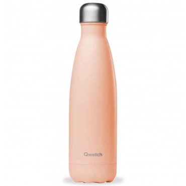 Bouteille Isotherme Pastel Pêche - Qwetch