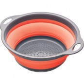 Passoire 2,8 L pliante à anses  24 cm rouge KITCHEN CRAFT