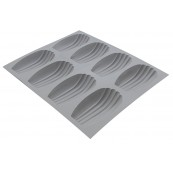 Moule ELASTOMOULE Madeleine 8 pcs De Buyer