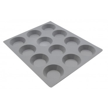 Moule ELASTOMOULE portions 12 mini Tartelettes De Buyer
